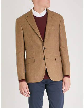 Polo Ralph Lauren Polo notch-lapel wool and silk-blend jacket