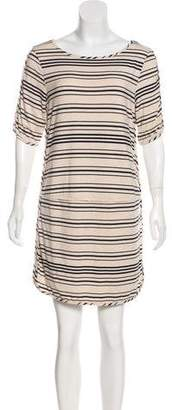 Tart Striped Mini Dress