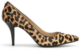 Michael Kors Flex Mid Leopard Calf Hair Pumps