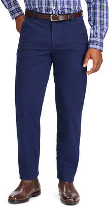 Chaps Men's Straight-Fit Stretch Flat-Front Pants