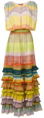 Missoni long ruffled dress