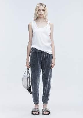 Alexander Wang VELOUR SWEATPANTS PANTS