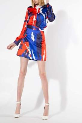 Beulah Style Multi-Color Skirt Set