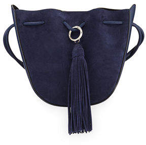 Rebecca Minkoff Lulu Suede Tassel Crossbody Bag