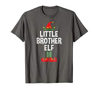 Little Brother Elf Shirt - Family Matching Christmas Pajamas
