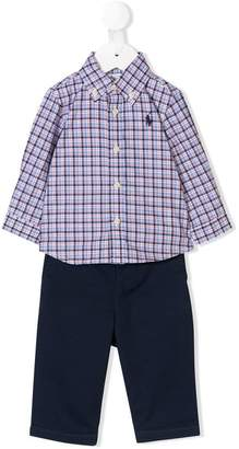 Ralph Lauren Kids classic two-piece set