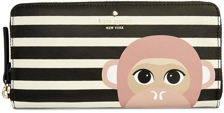 Kate Spadekate spade new york Rambling Roses Monkey Lacey Wallet