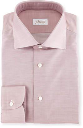 Brioni Chambray Cotton Dress Shirt