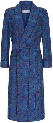Daniel Hanson Paisley Silk Robe