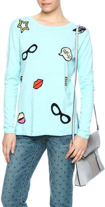 Lisa Todd Pop-Art Sweater $189 thestylecure.com