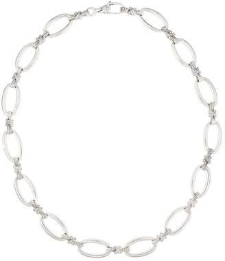 Lagos Embrace Diamond X Link Necklace