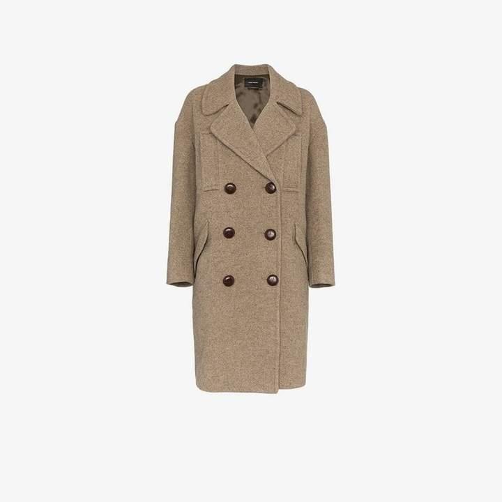 Etim double-breasted coat