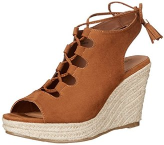 Report Women's Daryll Espadrille Wedge Sandal $49 thestylecure.com