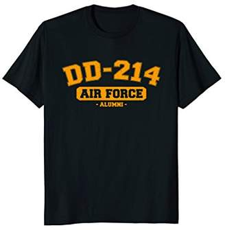 DD-214 US Air Force USAF Alumni Vintage T-Shirt