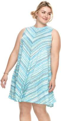 Sonoma Goods For Life Plus Size SONOMA Goods for Life High Neck Swing Dress