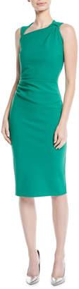 Chiara Boni Hena Asymmetric Sheath Dress