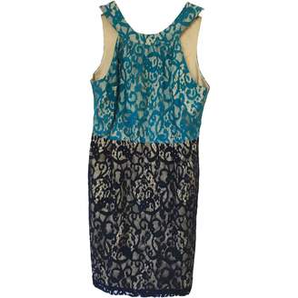 Anthropologie Blue Cotton Dress for Women