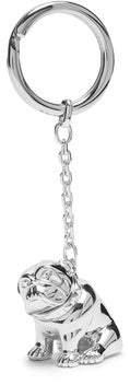 Dunhill Bulldog Key Ring - Mens - Silver