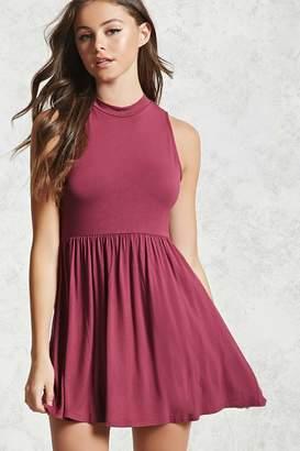 Forever 21 Knit Open-Back Dress