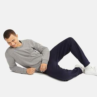 Uniqlo Men's Pile-lined Sweat Set