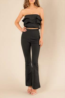 Wow Couture Black Adin Top