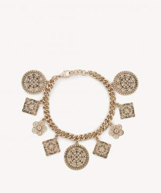 Sole Society Coin Charm Bracelet