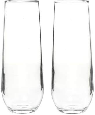 Cathy's Concepts Cathys Concepts 2-pc. Stemless Champagne Toasting Flute Set
