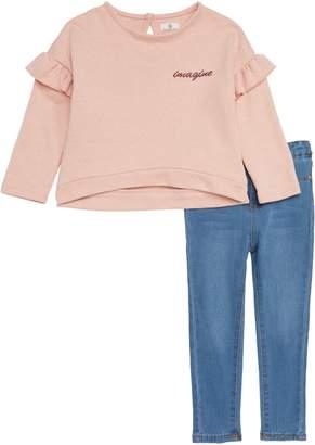 AG Adriano Goldschmied kids Sweatshirt & Jeans Set