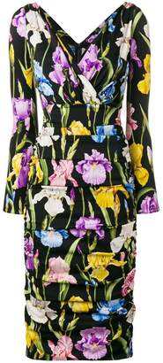 Dolce & Gabbana Iris print dress