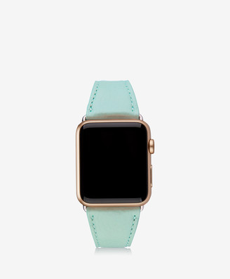 GiGi New York 42mm Apple Watch Band, Azure Pebble Grain