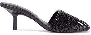 Sigerson Morrison Jara Basketweave Leather Sandals