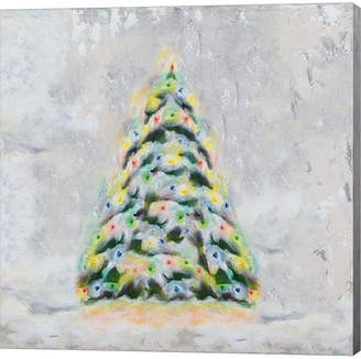 Tiffany & Co. Metaverse Jolly Christmas Tree by Hakimipour Canvas Art