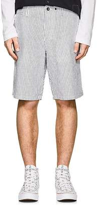 Rag & Bone Men's Striped Cotton-Linen Beach Shorts