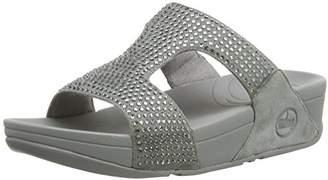97bc71cf5 FitFlop Women s Rokkit Slide Wedge Heels Sandals