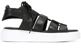 Diesel platform sandals