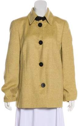 Akris Cashmere Short Coat