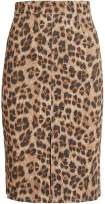 Miaou Flo Leopard Skirt