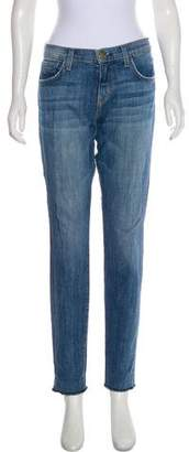 Current/Elliott Current/Elliot Mid-Rise Skinny Jeans