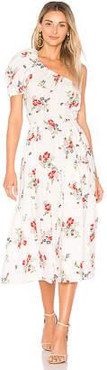 Rebecca Taylor Marguerite One Shoulder Dress