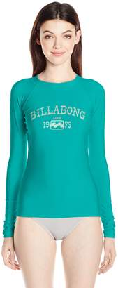 Billabong Women's Core Performance Fit Long Sleeve Swim Rashguard