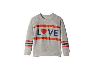 Chaser Kids Extra Soft Love Stripes Long Sleeve Pullover Sweater (Toddler/Little Kids)