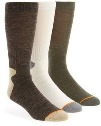 Nordstrom 3-Pack Assorted Boot Socks