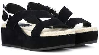 Rag & Bone Megan suede platform sandals