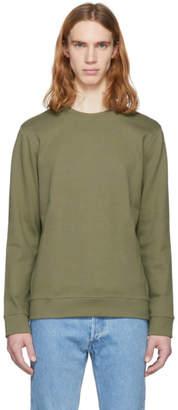 A.P.C. Green Quimper Sweatshirt