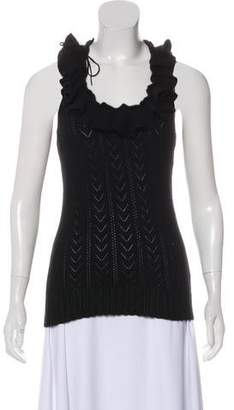 Ralph Lauren Black Label Cashmere Sleeveless Top