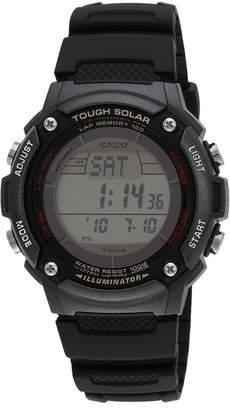 Casio WS200H-1B Men's Sports Solar Powered W-S200 Series Digital Grey Dial Strap Watch