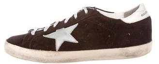 Golden Goose Boys' Suede Round-Toe Sneakers