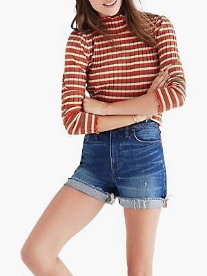 0ab1b7ff2aa Madewell Shorts For Women - ShopStyle UK