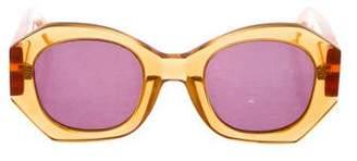 Karen Walker Patsy Translucent Sunglasses