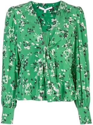 Veronica Beard floral print blouse